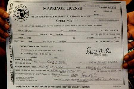 Search illinois marriage records