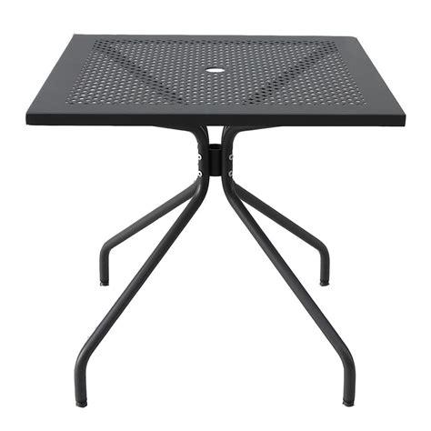 tavolo quadrato de tavolo quadrato in ferro per giardino estate 80 vendita