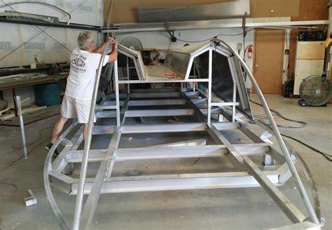 catamaran aluminum boat aluminum catamaran build thread the hull truth boating