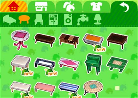 happy home designer furniture unlock video game weekly animal crossing happy home designer