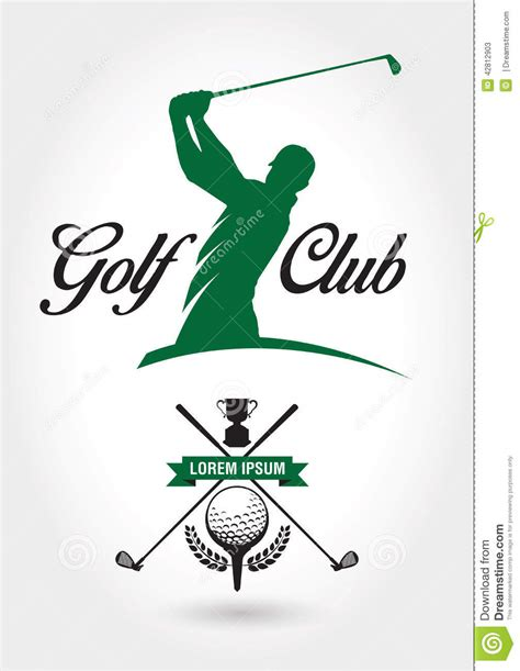 gulf logo vector golf logo and icon stock vector image 42812903