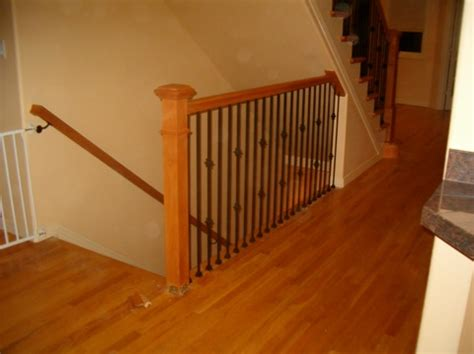 installing banister how to stair rail