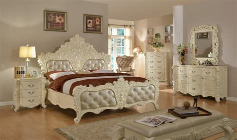 ornate bedroom furniture novara french ornate 5 drawer chest in pearl white