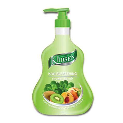 Sabun Klinsen jual klinsen shower scrub kiwi refreshing 1000 ml jd id