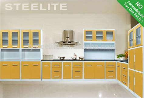 used kitchen cabinet sets made in china steel kitchen furniture set ready made