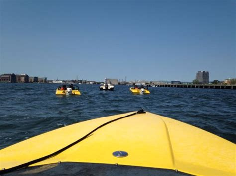 boston mini speed boats cruising by the boston tea party museum picture of