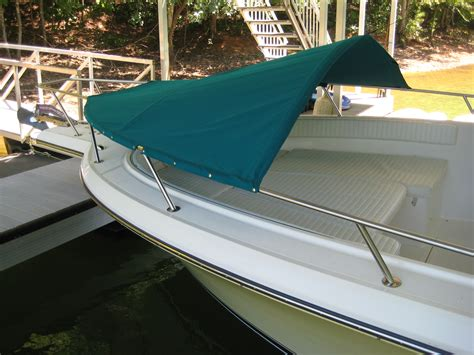 made my own bow dodger the hull truth boating and - Bow Dodger Boat