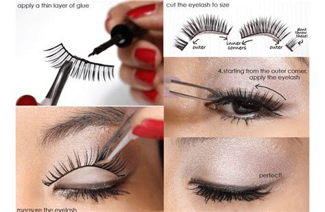 Eyelashes Vire Hide Original trying out eye lashes for the time follow these tips
