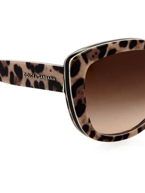 Dolce Gabbana Dolce Gabbana dolce and gabbana leopard sunglasses 171 neo gifts