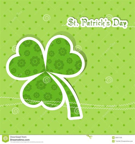 template st s day greeting card stock vector