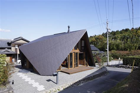 how to design a house like an architect a house with an origami like roof design milk