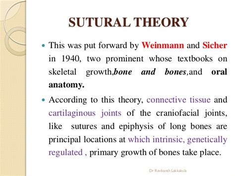 Recent Advances In Growth Theories Orthodontics