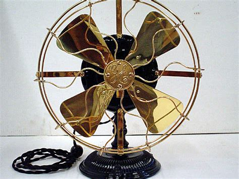 old fashioned electric fan antique stylish operational art deco beanwy electric fan