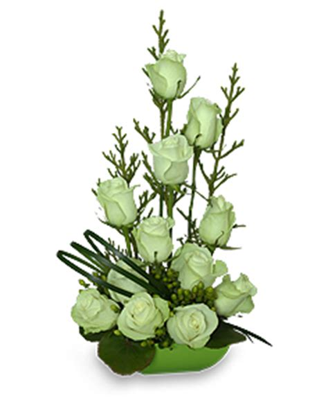 White Jade Day By Vibee Shop jade green roses arrangement flower shop network