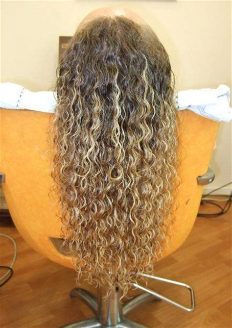 perms for long thick hair pictures of spiral perms for long thick hair