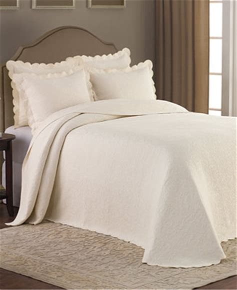 martha stewart matelasse coverlet claire matelasse ivory bedspreads quilts bedspreads