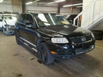 Volkswagen Salvage by Salvage Volkswagen Touaregs For Sale
