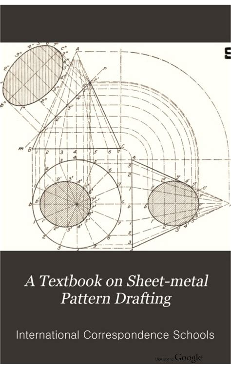 pattern drafting vol ii a textbook on sheet metal pattern drafting volume 2 1901
