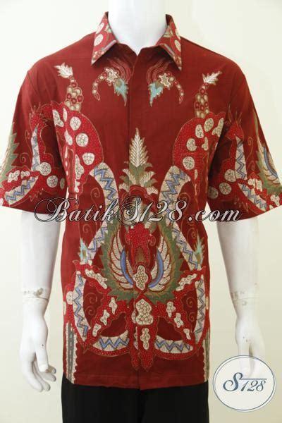 Jual Baju Ukuran Jumbo Jual Baju Batik Tulis Ukuran Jumbo Warna Merah Keren Hem