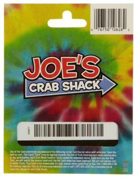 joe s crab shack gift card 25 shop giftcards - Joes Crab Shack Gift Card