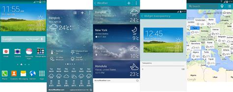 themes for rooted galaxy s5 galaxy s5 accuweather widget for galaxy s4 and other devices