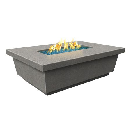 Rectangular Gas Pit Contempo Gas Pit Table Rectangle Woodlanddirect