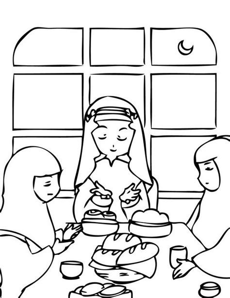 ramadan coloring pages for kids ramadan eid pinterest