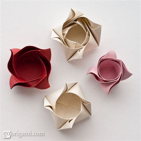 Small Origami Box - diy shaped origami box for small gifts and