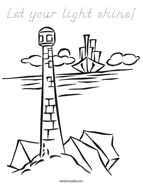 children of light coloring page