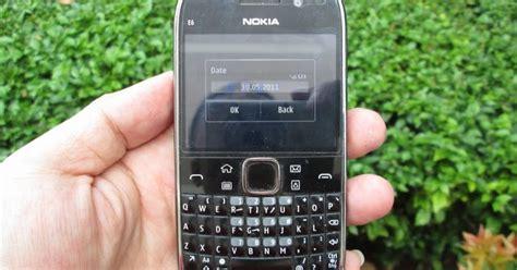 Hp Nokia E6 Bekas cnc phoneshop jual nokia e6 jadul eks garansi nokia indonesia