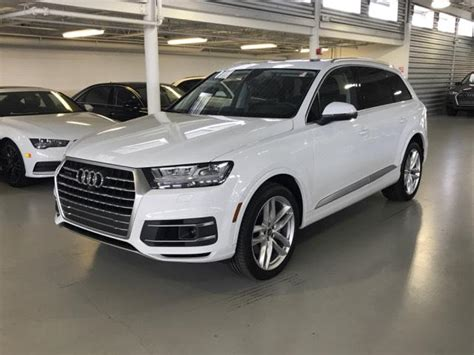 Pre Owned Audi Q7 by Pre Owned 2018 Audi Q7 3 0 Tfsi Prestige Sport Utility In