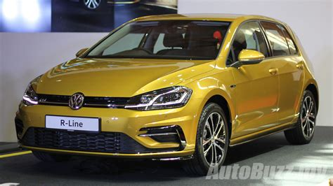 volkswagen malaysia volkswagen malaysia introduces the golf tsi quot r line
