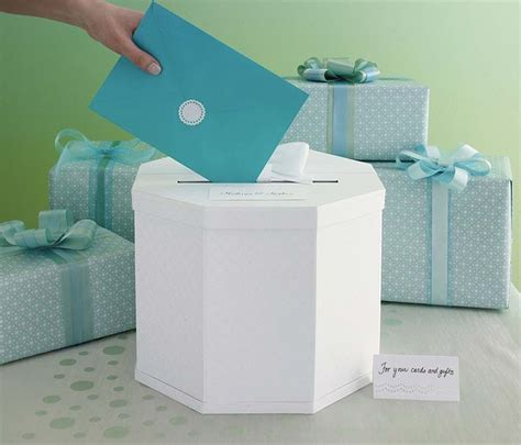 Martha Stewart Wedding Gift Card Box - gift card box by martha stewart wedding favours wedding design company