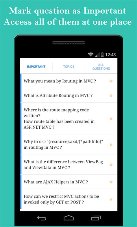 mvc tutorial questions mvc interview tutorial android apps on google play