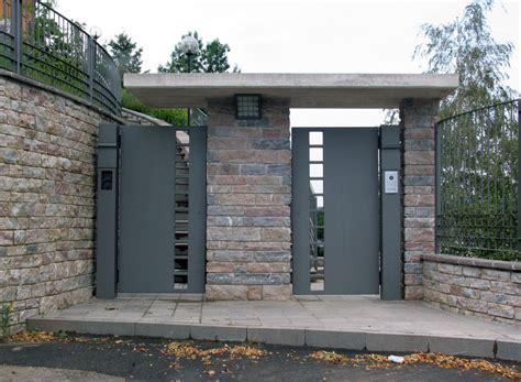 cancello d ingresso free villac sicurezza e artigianato e design lavorazioni