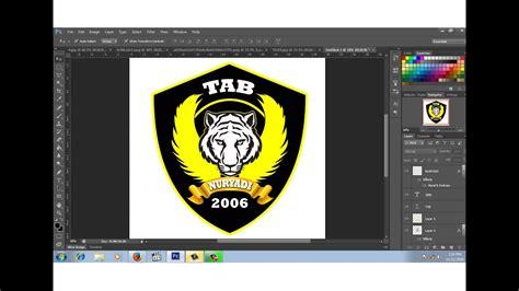 cara membuat logo keren di photoshop cs6 cara membuat desain logo club motor 2 youtube