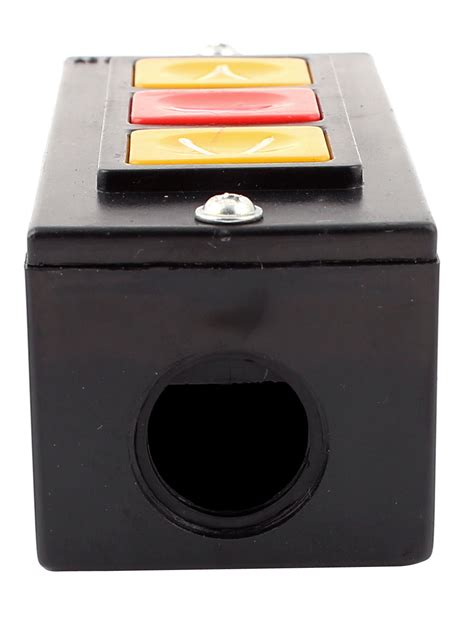 Outbow Plastic Push Button rolling door up stop 3 buttons black plastic housing push button switch ebay