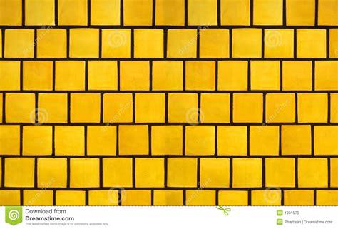 Retro Bathroom Flooring Yellow Tile Background Stock Photo Image Of Design