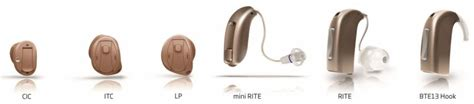 hearing aid types learn about common styles of hearing aids