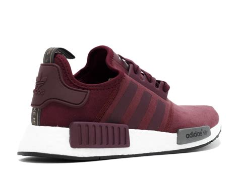 Adidas Nmd R1 Maroon Bergundy nmd r1 w burgundy black white flight club