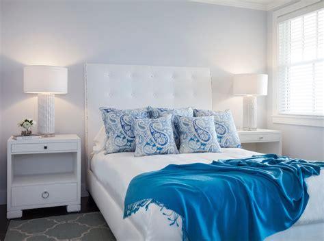 ice blue bedroom white and blue bedrooms transitional bedroom