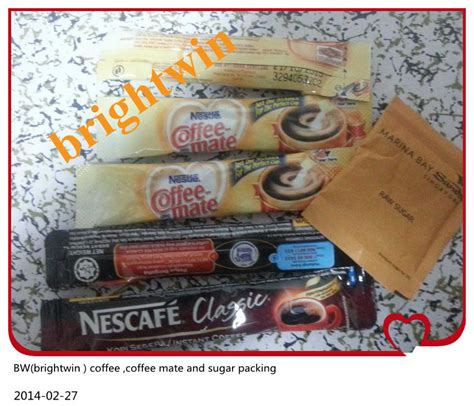 Coffee Mate Sachet factory price automatic instant coffee sugar coffee mate
