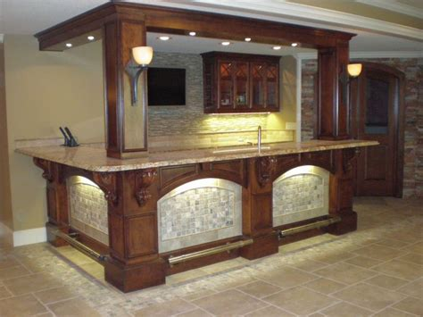 custom built bars shamrock cabinets