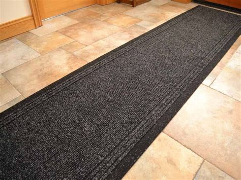 rubber backed runner rugs black heavy duty non slip rubber backed runners narrow rug cheap ebay