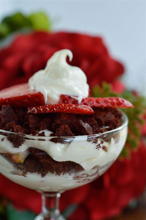day dessert recipes velvet trifle wonkywonderful
