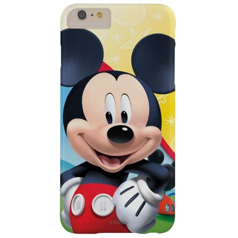 Casing Hardcase Hp Iphone 6 Plus Mickey Mouse Wallpaper X4310 mickey mouse clubhouse playhouse barely there iphone 6 plus plus