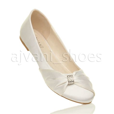 ballerina shoes womens wedding bridal evening ballerina ballet