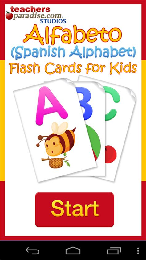 alphabet flash kids spanish 141143479x alfabeto kids spanish alphabet android apps on google play