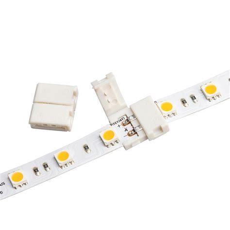 splicing led lights kichler led inline splice 1c1wh