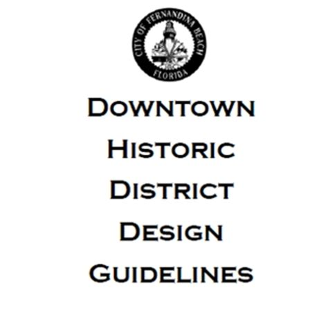 design guidelines for local historic districts latest design guideline drafts are available